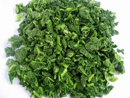 Chopped Spinach 3LB BOX