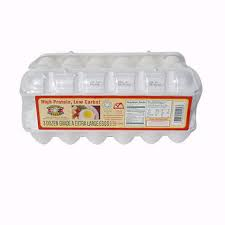 Extra large Eggs white carton 1 dozen