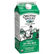 Organic Valley Skilm Fat Free