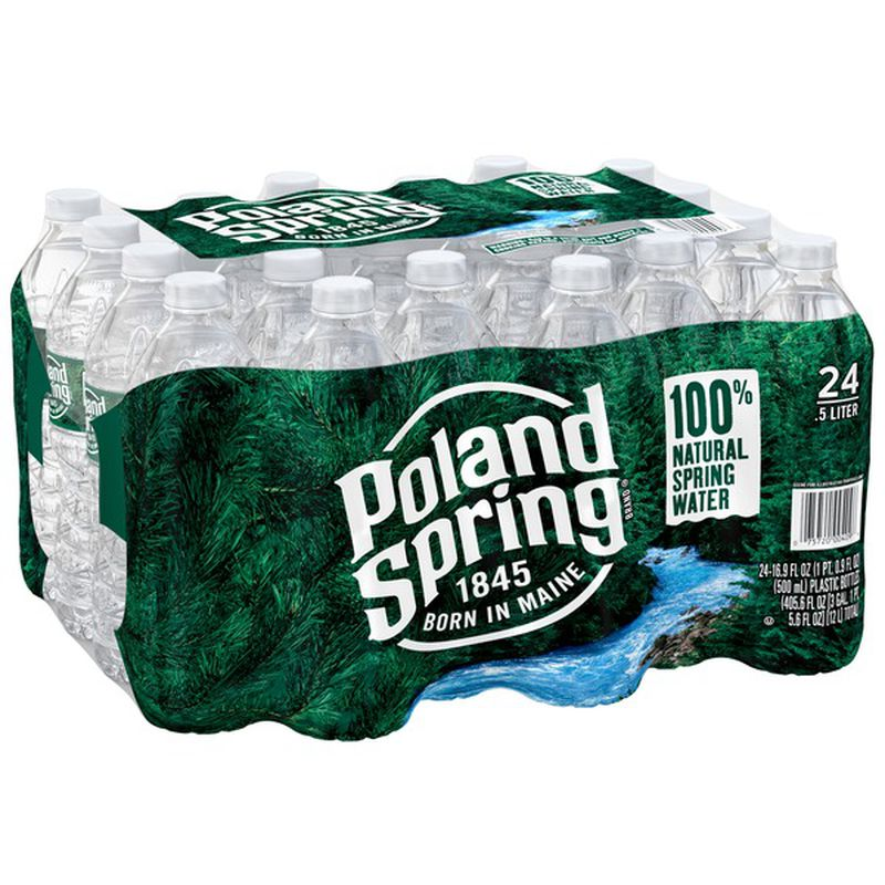 POLAND SPRING 24 PACK 16.9ltr 5.95 plus dep