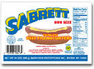 Sabrett Skinless Hot Dog 14oz 8 pc